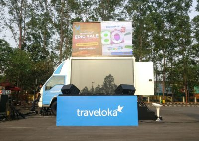 Mobile LED Traveloka Event
