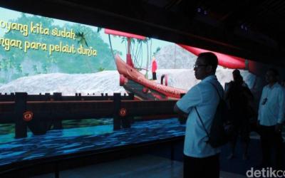 Teknologi Cinema Interaktif di Candi Borobudur